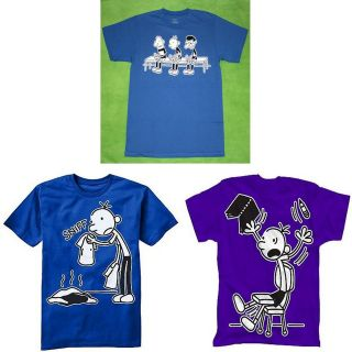 New Boy Diary Of A Wimpy Kid Blue Purple T Shirt Tee Size S8 M10/12