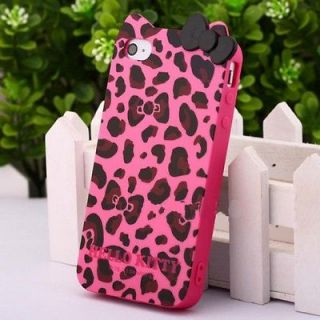 hello kitty leopard iphone 4 case in Cases, Covers & Skins