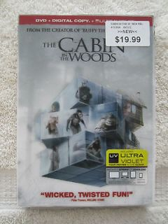 cabin in the woods in DVDs & Blu ray Discs