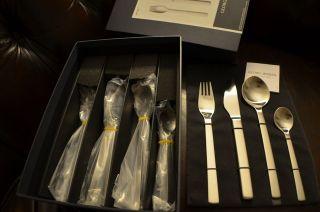 JENSEN New York 16 pieces Gift Box New Flatware Cutlery Henning Koppel