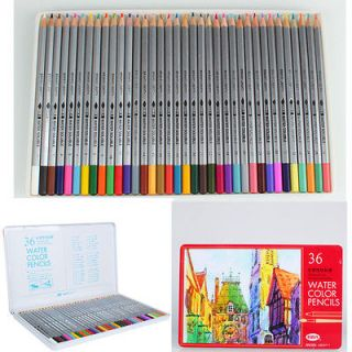 36 Color Artist Water Soluble Drawing Pencil for studio or travel use