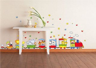 Thomas the Tank Engine Wall Sticker Decor Decal Party Home Kids Favors