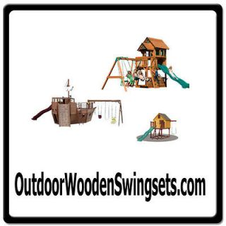 Outdoor Wooden Swingsets ONLINE WEB DOMAIN FOR SALE/WOOD TOY