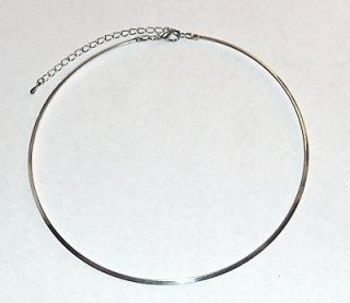 CHARMED TV SHOW WARDROBE PIPERS SILVER CHOKER NECKLACE HOLLY M. COMBS
