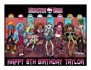 monster high cake images in Holidays, Cards & Party Supply