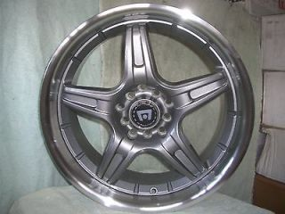 Motegi SP5 Gun Metal RIMS Ford Mustang Honda Civic Accord 5 Lug NEW
