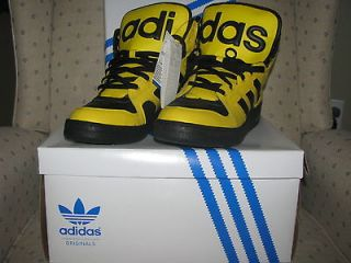 ADIDAS ORIGINALS ObyO JEREMY SCOTT INSTINCT HI Sun Yellow Wings