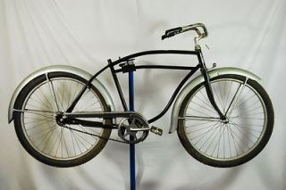 Vintage 1950s Montgomery Wards Hawthorne balloon tire bicycle bike