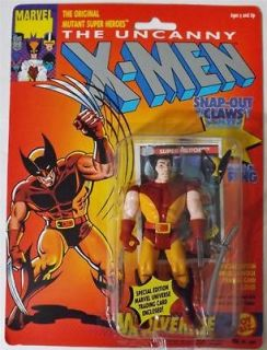 Toy Biz Marvel X MEN SNAP OUT CLAWS WOLVERINE Action Figure NEW IN BOX