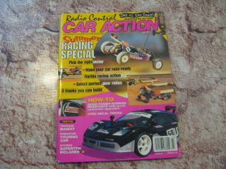 RC CAR ACTION MAGAZINE JUL 96 CAR OF YEAR ASSOCIATED B2 PREDATOR
