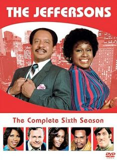 The Jeffersons   The Complete Sixth Season DVD, 2007, 3 Disc Set