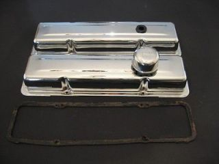 EUC Chevy Valve Covers 350 v8 Small Block Engine 1972 1978 72 73 74 75