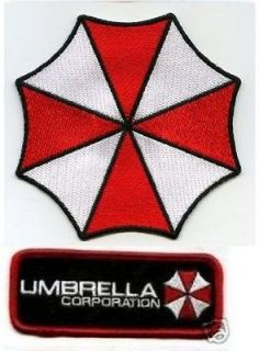 HALLOWEEN COSTUME PATCH Resident Evil STARS UMBRELLA CORP ID TAG d