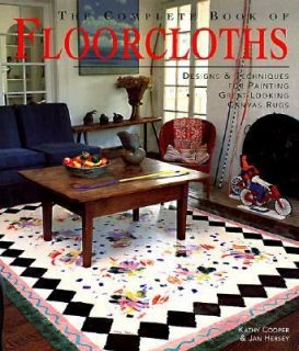 Canvas Rugs by Jan Hersey and Kathy Cooper 1999, Hardcover