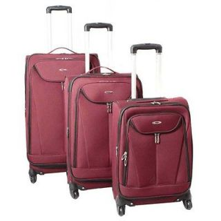 Kemyer Celebrity Lightweight 3 Piece Expandable Spinner Luggage Set