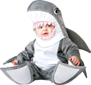 SILLY SHARK INFANT/TODDLER BOY OR GIRL COSTUME  INCHARACTER  CUTE