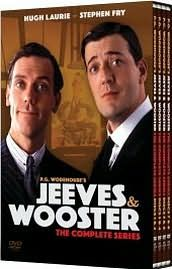 Jeeves and Wooster   The Complete Collection DVD, 2009, 8 Disc Set