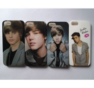 pcs New Justin Bieber Hard Back Cover Case For Apple iPhone 5  5F04
