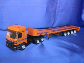 MERCEDES BENZ ACTROS GOLDHOFER TELESATTEL TELESCOPIC LOW LOADER NZG