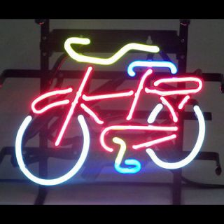 Bicycle bike shop Neon Sign Fat tire Mancave Mountain biking wall or