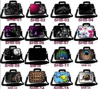 Laptop Shoulder Bag Cover Case + Handle For 15 15.4 15.6 Computer