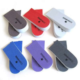 Pair Cushion Height Increase Shoes Inserts Taller Insoles Heel Lifts