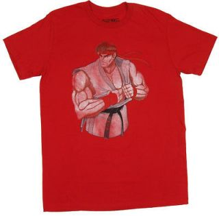 ryu street fighter sheer t shirt