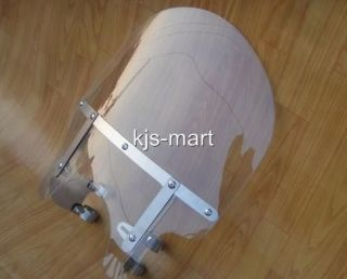 BRAND NEW 55cm TALL WINDSHIELD for HONDA SHADOW MAGNA STEED REBEL CA
