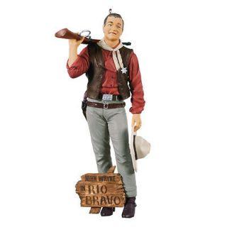 2012 Hallmark Keepsake Ornament   John Wayne Rio Bravo   NIB