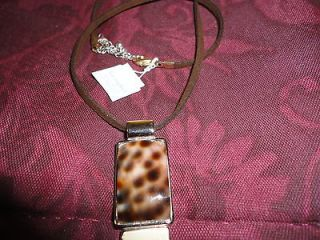 lia sophia mother of pearl necklace in Necklaces & Pendants