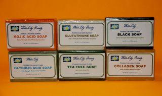 EXTRA STRENGTH Kojic Acid Soap Black Soap Skin Whitening Anti Aging