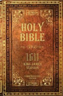 Holy Bible, 1611 King James Version by Thomas Nelson 2010, Hardcover