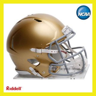 NOTRE DAME FIGHT IRISH ON FIELD AUTHENTIC REVOLUTION SPEED FOOTBALL
