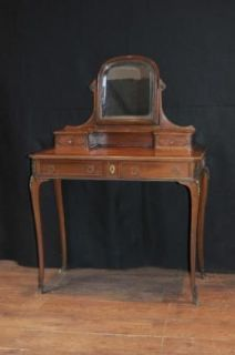 french antique dressing table vanity desk dresser kingwood from united