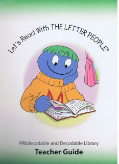 Lets Read With The Letter People Teacher guide Land of gr k 1