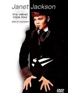 Janet Jackson   The Velvet Rope Tour Live in Concert DVD, 1999