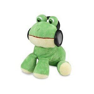 iFlops Frog Personal Twin Speaker Stuffed Animal Pal