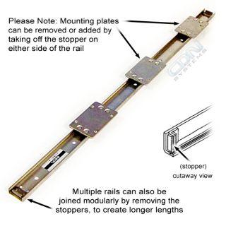 THK FBW/FBW2560R Linear Bearing Guide Slide Rail Pack FBW 488mm