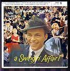 FRANK SINATRA Swingin Affair LP Capitol W803 MONO Vinyl Album Record