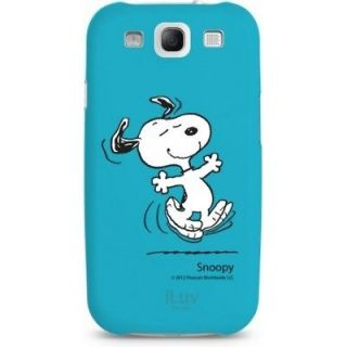 Authentic iLuv Snoopy Woodstock Blue Hard Shell Case Samsung Galaxy S3