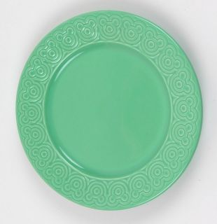 Disney Mickey Mouse Ears SALAD PLATE, Made in Portugal, AQUA (blue