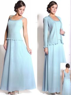 COLOR FORMAL OCCASION MOTHER OF THE BRIDE/ GROOM DRESS EVINING M To