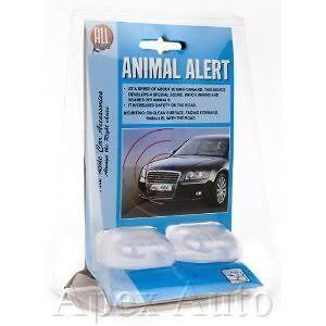 SAFETY WILD ANIMAL FOX DEER HORSE ALERT WHISTLING WARNING DEVICE X 2