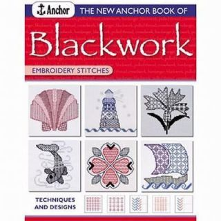 Blackwork Embroidery Stitches by Jill Cater Nixon 2005, Paperback