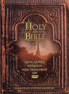 Holy Bible King James Version   New Testament DVD, 2003
