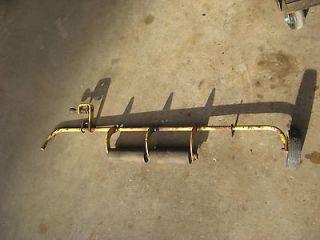 John Deere 140 120 rear guage wheel braket fits older decks