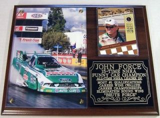 John Force 15 Time NHRA Funny Car Champion Castrol Brute Force Photo