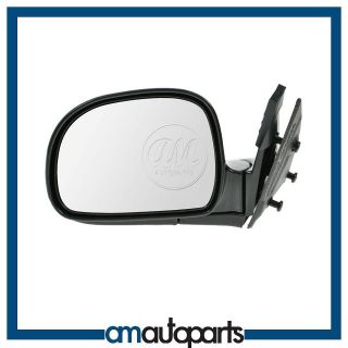 Chevy Blazer Pickup Truck S10 S 15 Manual Door Mirror Left LH Driver