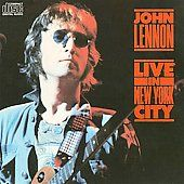 Live in New York City by John Lennon CD, May 1986, Capitol EMI Records