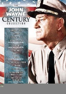 The John Wayne Century Collection DVD, 2007, 14 Disc Set